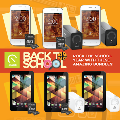 Ekotek Back to School Promo