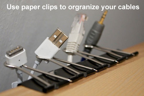 How to Organize Your Cables