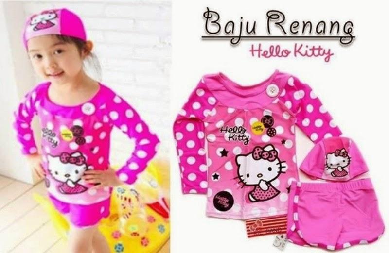 Dan Lucuan Baju Anak Baju Renang Hello Kitty Untuk Anak Perempuan Baju ...