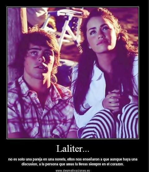 Amorporlaliter: ♥ ♥ Laliter No Es Solo Una Pareja De Una Novela Y Es Una Enseñanza Del Amor
