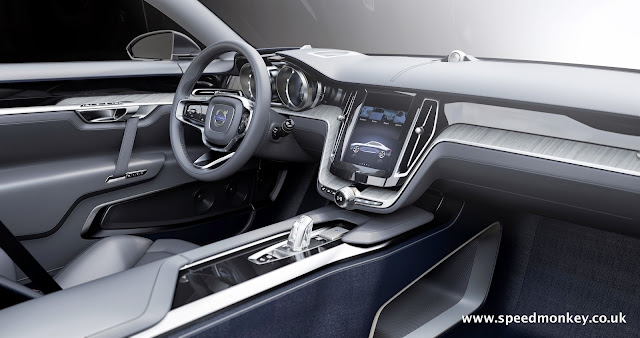 New Volvo P1800 - 2014 Volvo Concept Coupe interior