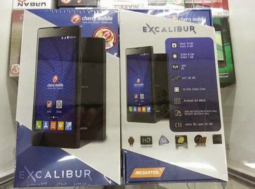 Cherry Mobile Excalibur, 5-inch HD Octa Core KitKat for Php6,999
