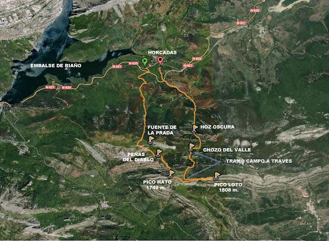 Ascensión al Pico Hato y Loto desde Horcadas.