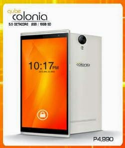 Qube Colonia Now Only Php4,990, 5.5-inch HD Display Octa Core 2GB RAM