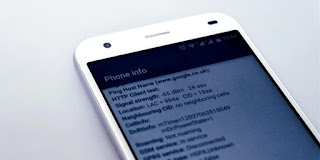 Ilustrasi Phone Info (Yoga Hastyadi Widiartanto/Nextren.com)