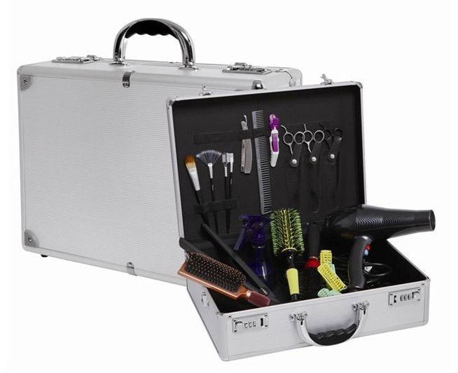 Barber tool case barber uniforms galleries for Ab salon equipment reviews