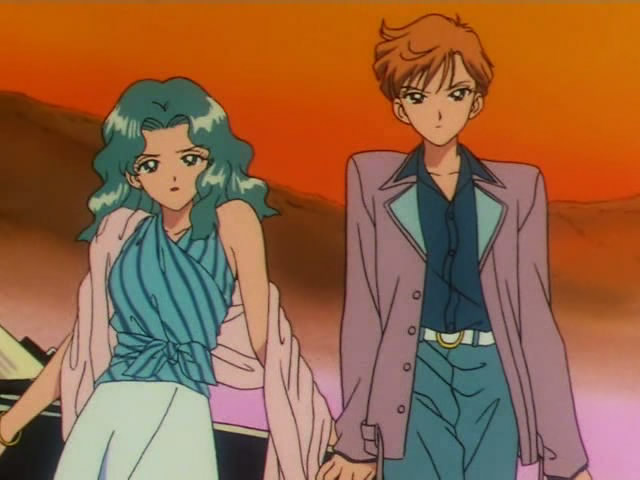 Sailor moon holding hands hentai