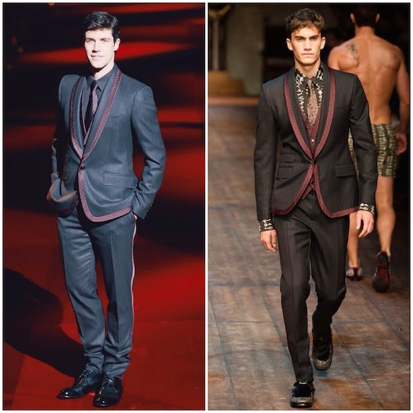What's he wearing?: Roberto Bolle in Dolce & Gabbana ...