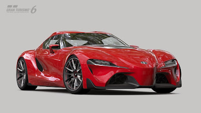 Gran Turismo 6 Toyota FT-1 Concept Coupe