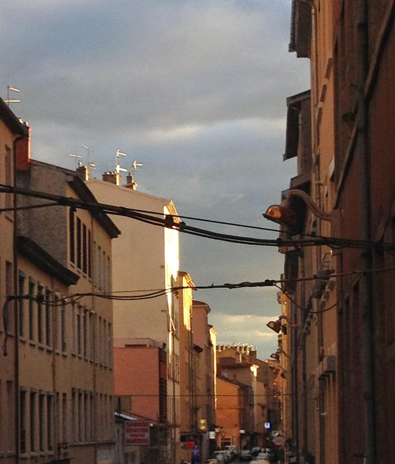 Rue du Mail, Ciel d'orage, Lyon, Croix Rousse Instagram