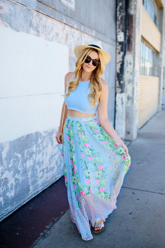 roupas femininas-cropped-saia longa-lojas de roupas-roupas da moda-Moda- long Skirt
