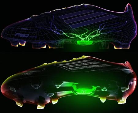 botas de fútbol inteligentes