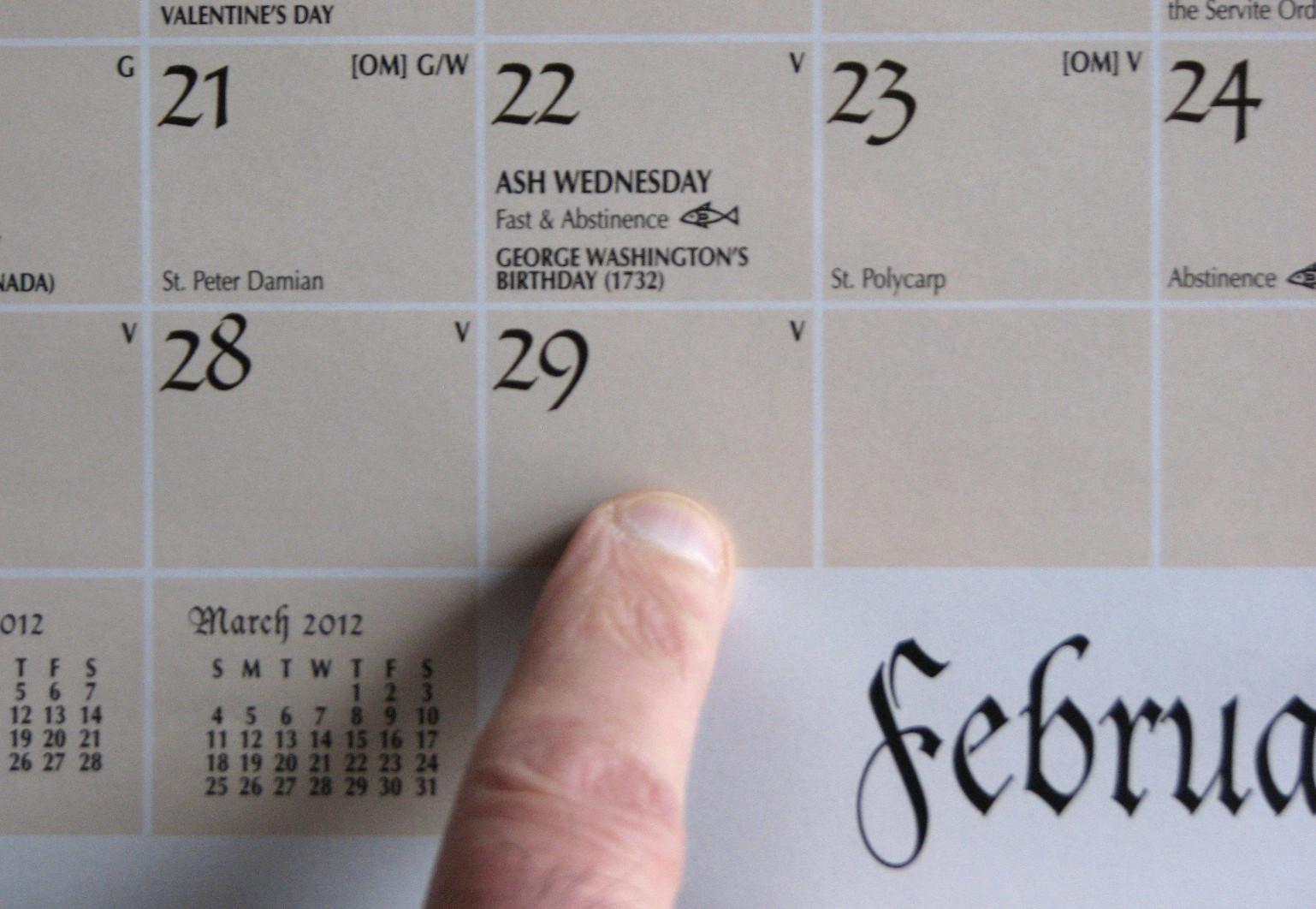 Julian Leap Year Calendar : Father julians blog: the leap year