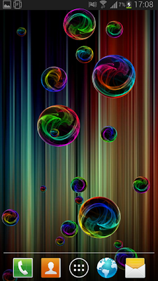 Bubble Deluxe Live Wallpaper