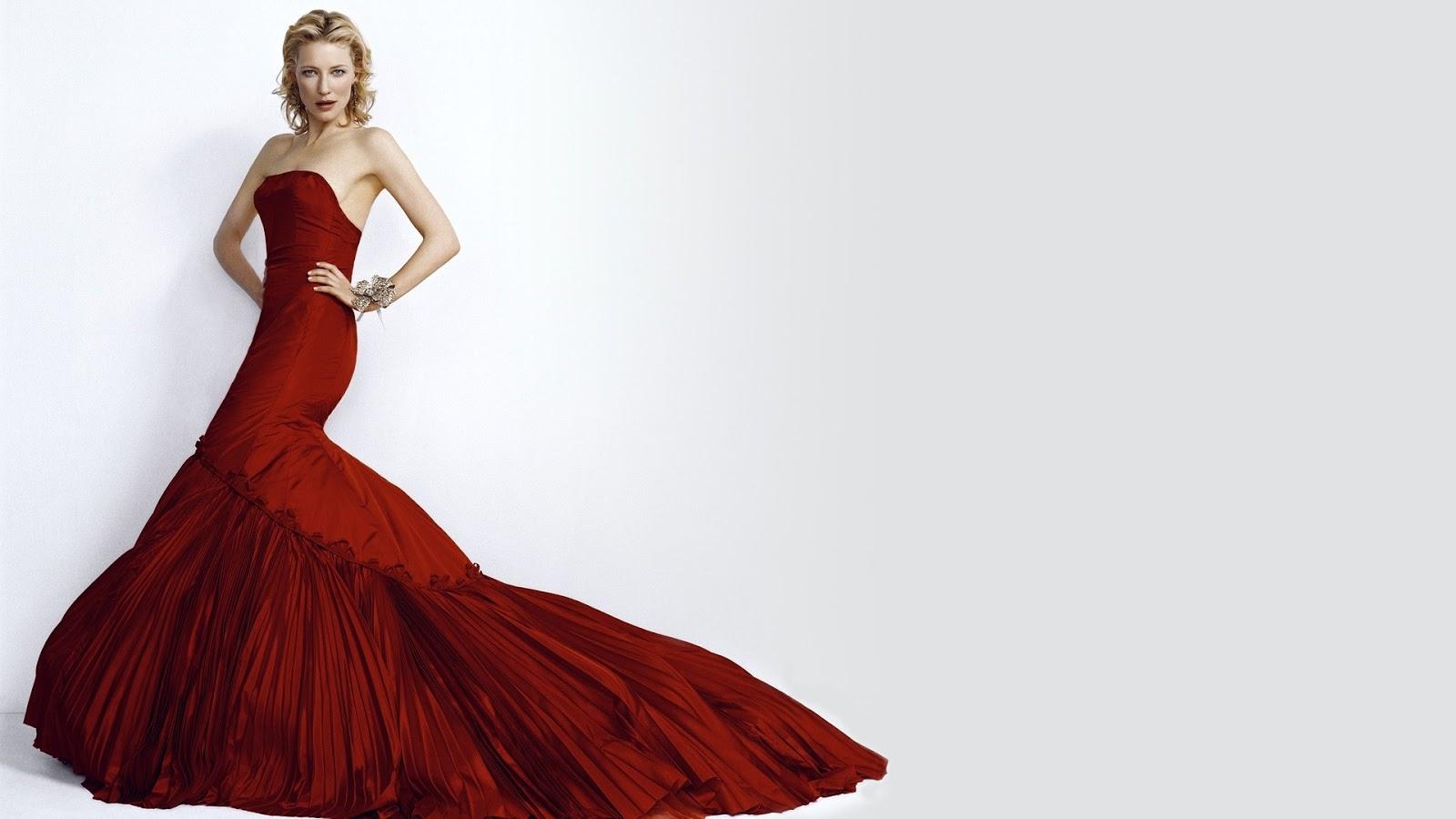 Cate Blanchett Red Dress