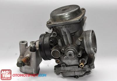 intake manifold karburator yamaha fino