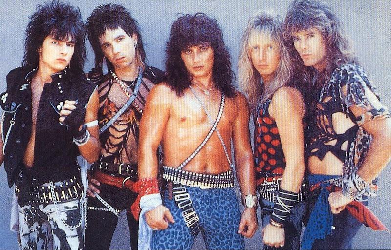 die amerikanische hard rock gruppe rough cutt wurde 1981 gegruendet in  title=