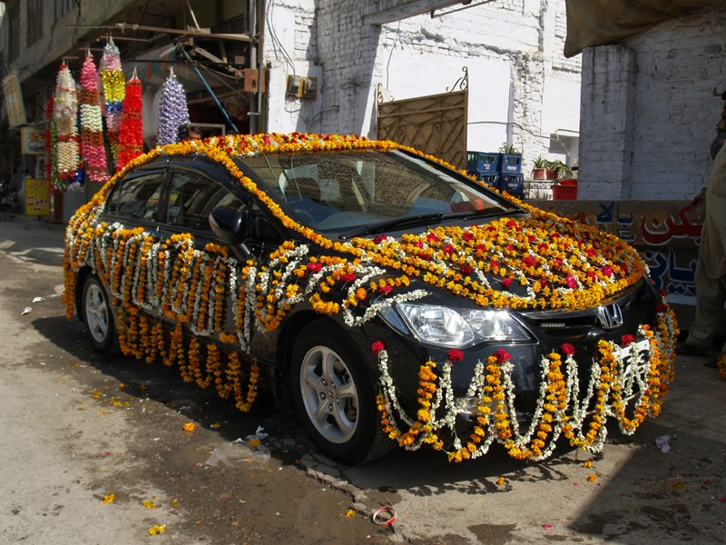 Dulha dulhan plan marriage in pakistan july 2014 for Auto decoration in pakistan