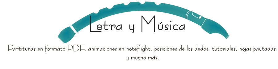 Letra y música 12