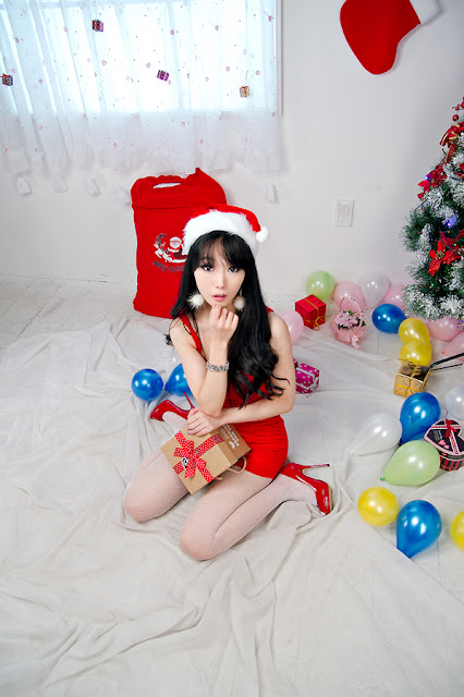 4 Santa Im Soo Yeon-Very cute asian girl - girlcute4u.blogspot.com