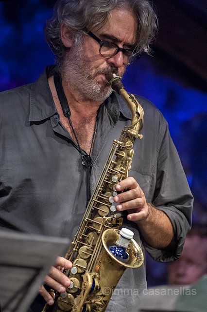 Tim Berne, Jamboree Jazz Club, Barcelona, 11-10-2015