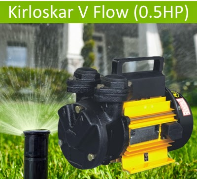 Kirloskar V Flow (0.5HP) Online, India - Pumpkart.com