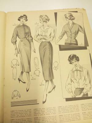 vintage 50's 30's skirt pattern Evil Dressmaker