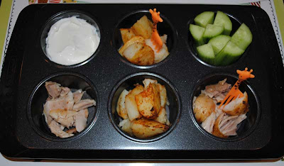 muffin tin meal