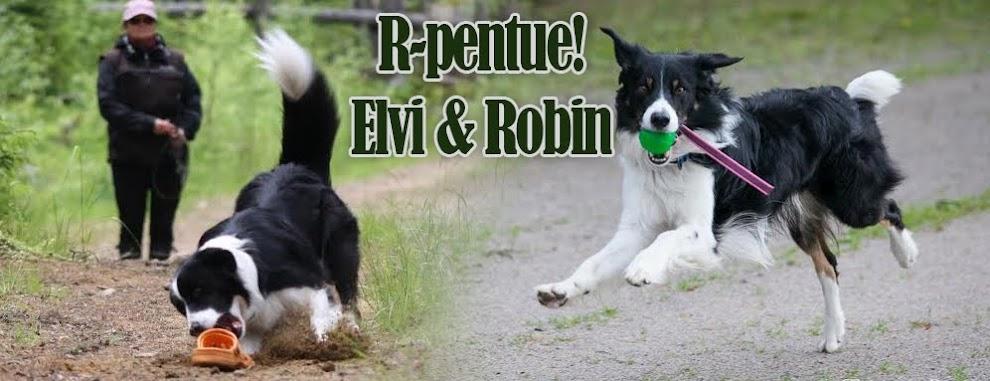 R-pentue!  Robin & Elvi