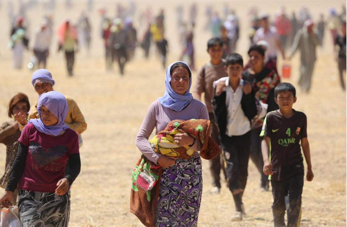 Huge Numbers Of Christians Forced To Flee Before ISIS