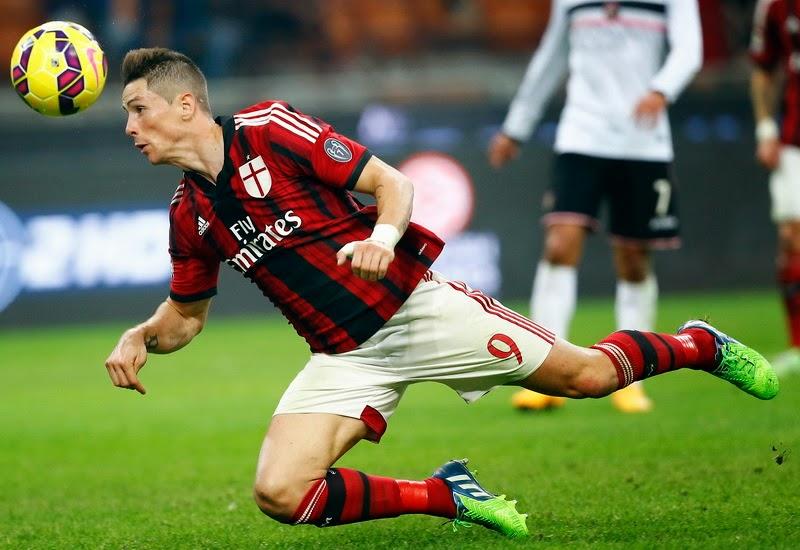 Torres Butuh Waktu Di AC Milan