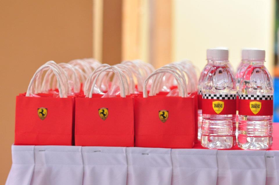 Oh Pretty Please Ferrari Theme Birthday Party