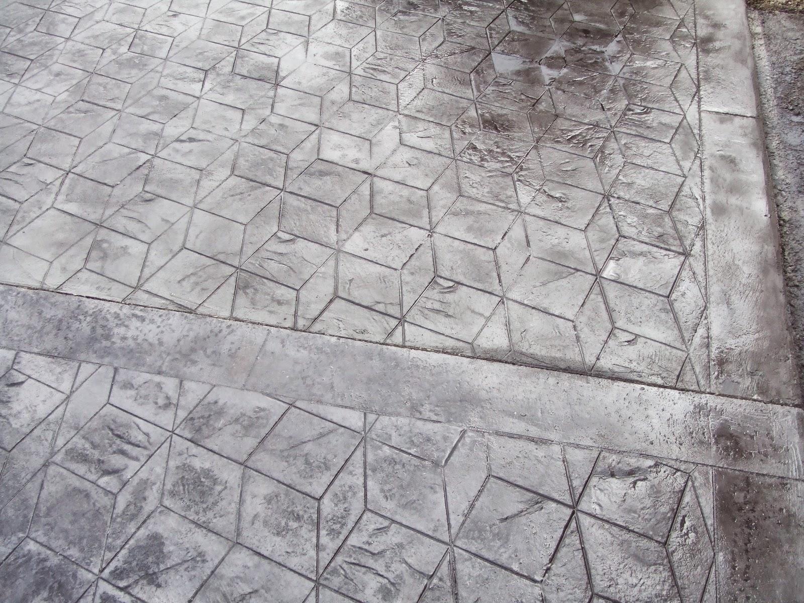Hormig n impreso molde en 3d pavimentos continuos de for Hormigon impreso blanco