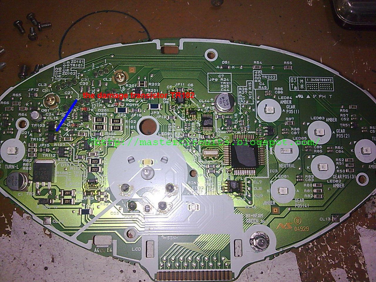 Info Manual Wave 125 S Panel Repair