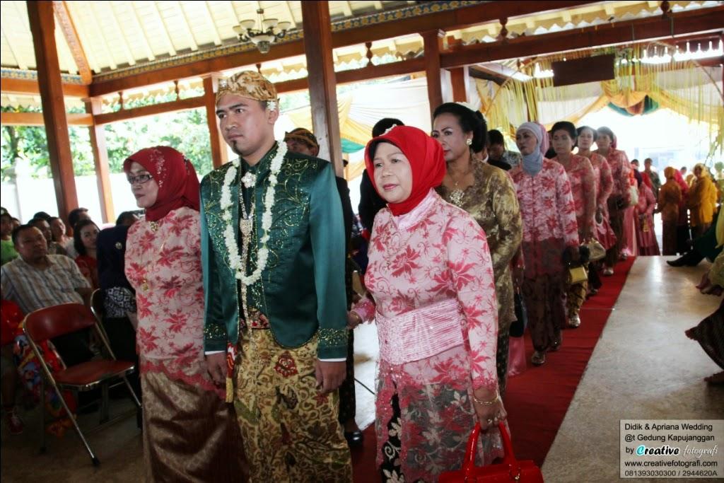 foto pernikahan pengantin adat jawa tengah