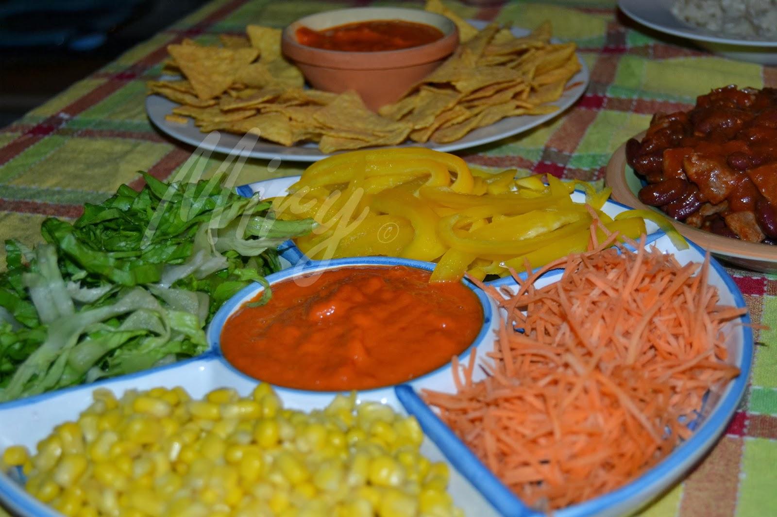 Cucina e altre passioni...: Cucina dal mondo: Cena messicana