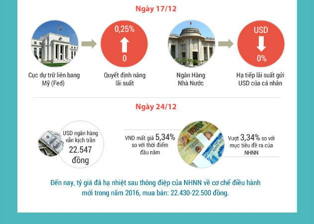 Nhìn Lại Biến Động Tỷ Giá Năm 2015