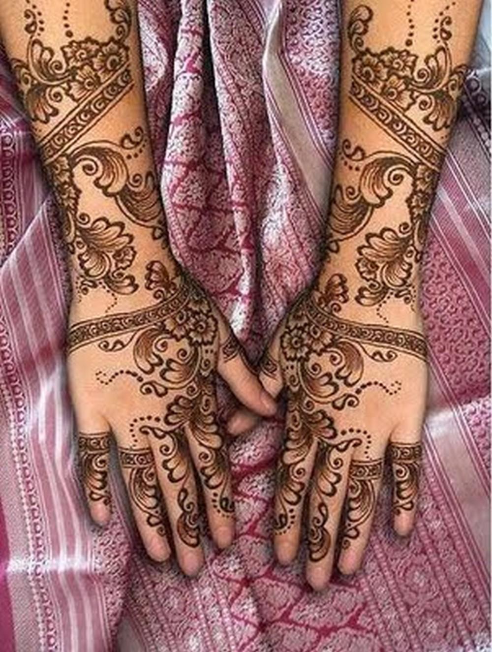 Mehndi Designs For Hands For Engagement : Mehndi designs engagement
