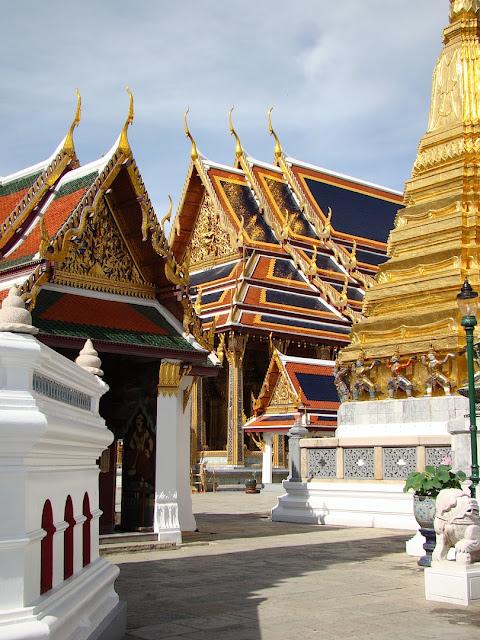 La grand palais à Bangkok