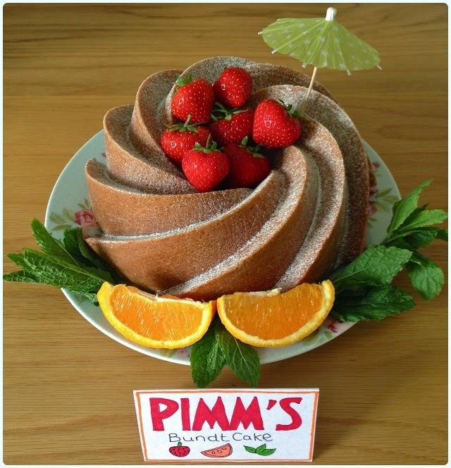 Pimms Bundt Cake