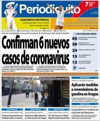 07/04/2020   PRIMERA PAGINA DIARIO DE VENEZUELA