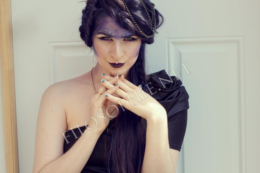 Warrior Princess Makeup Aria  warrior princess