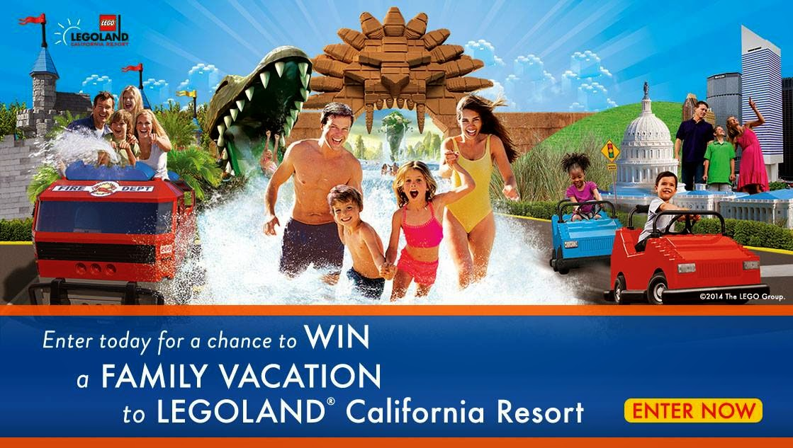 image Canadaian Freebies Enter to Win A Family Vacation to Legoland California!