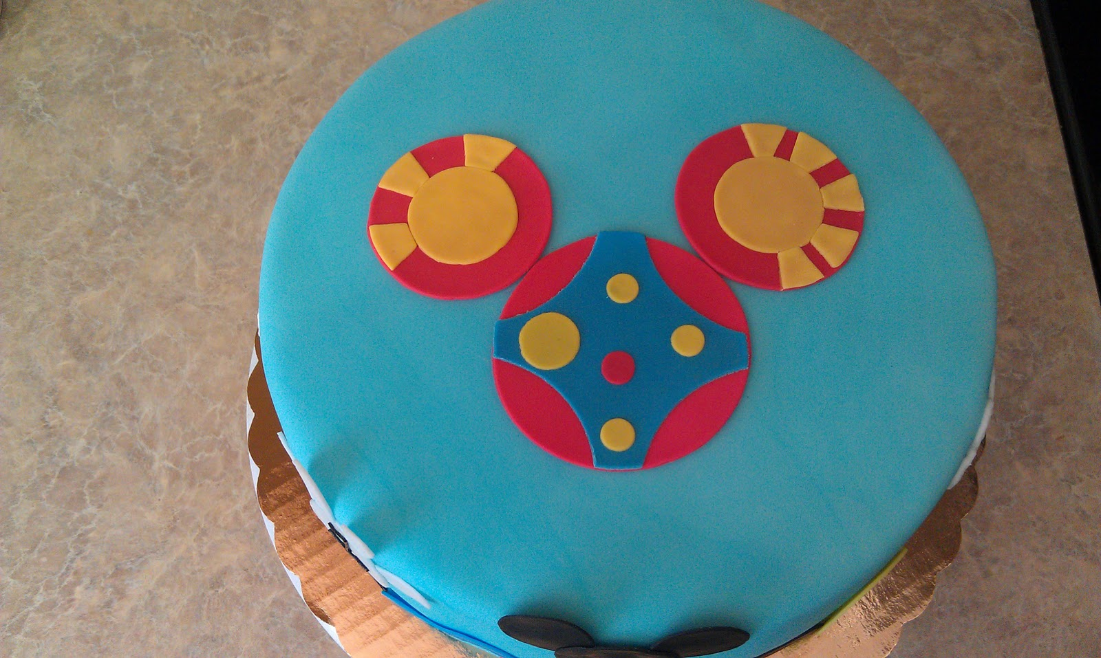 Mickey Mouse Toodles Cake Pan