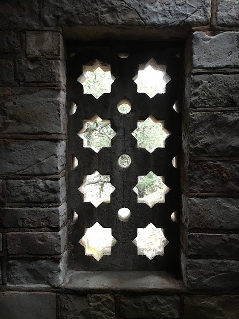 Interesting Window Design-Observation Tower at Longhorn Cavren State Park-Burnet, Texas