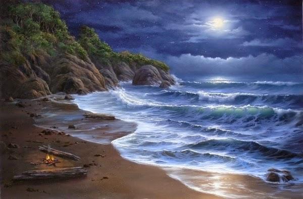 hình nền ánh trăng huyên ảo tuyệt đẹp