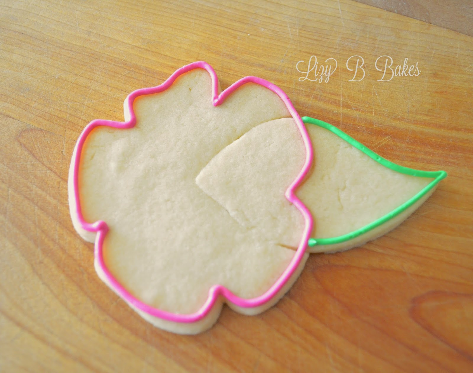 Lizy B Hibiscus Cookie Tutorial