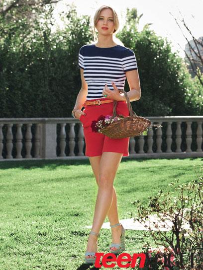 Fashion Blog: Magazine Covergirl: Teen Vogue -- Jennifer Lawrence (May 2011)