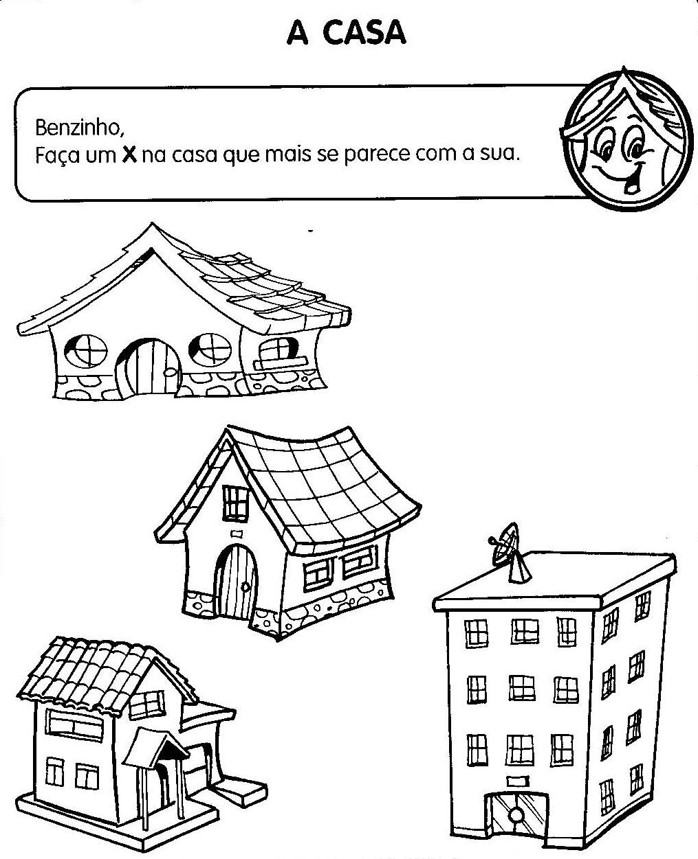 Espa o escola atividades sobre a casa geo hist ria for Creador de casas