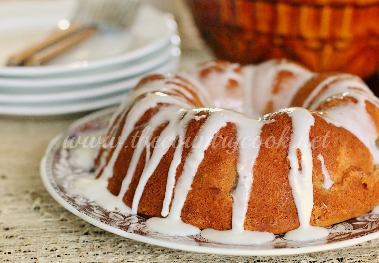 Apple Surprise Cake - The Country Cook